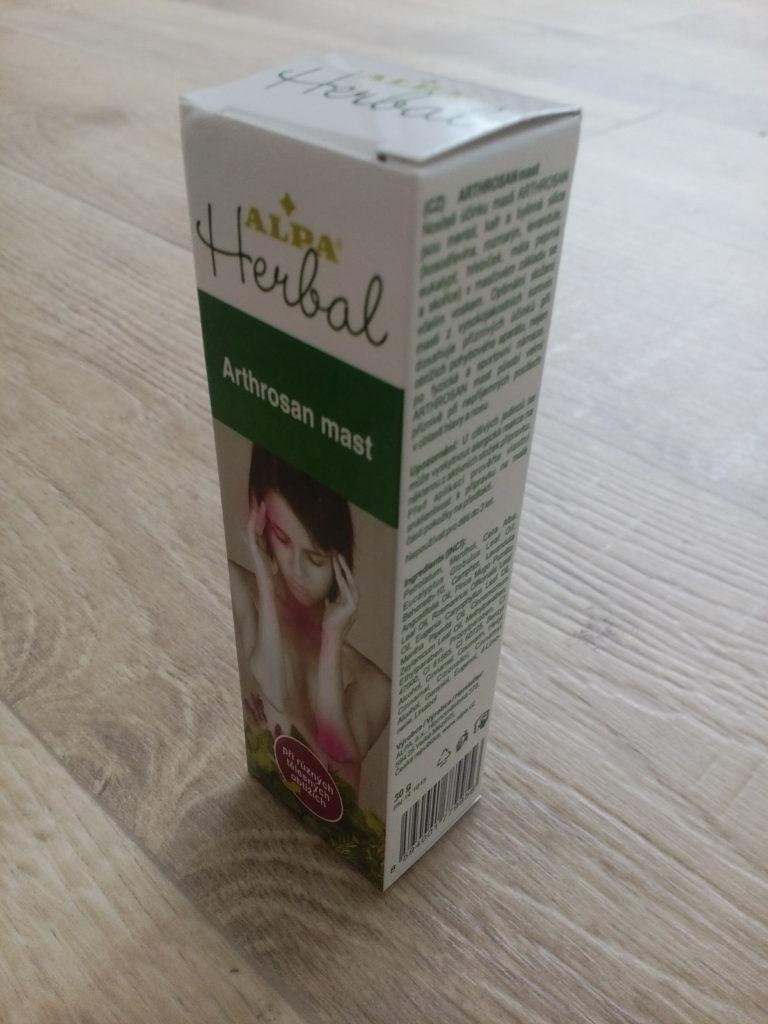 Léčivá mast Alpa Herbal Arthrosan, foto: i-Senior.cz