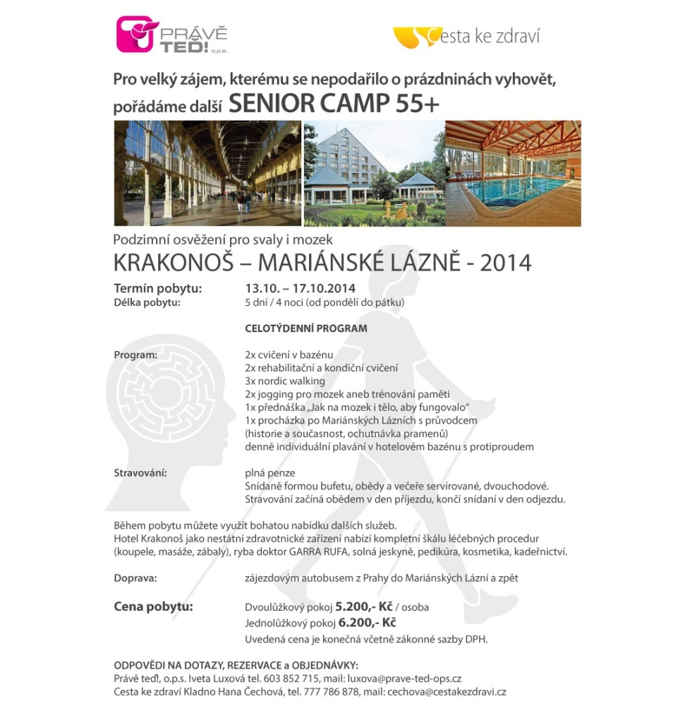 Senior Camp Krakonoš