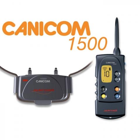Elektronický obojek Canicom 1500, zdroj: www.elektronickeobojkypropsy.cz