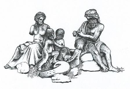 Neptun, ilustrace: Dagmar Václavíková